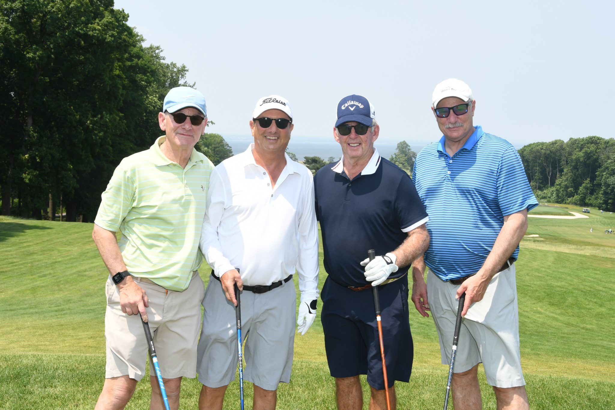 Displaying Left to right, Michael Mullman, Ed Geller, Jeff Krevat and Peter Braverman.JPG