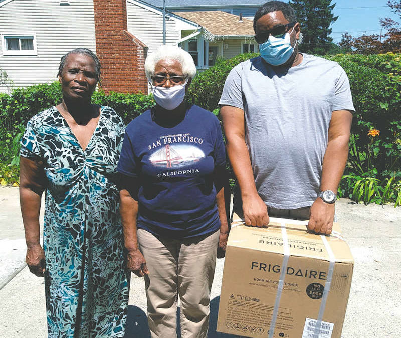 Cooling Relief For Westbury Families, Anton Media, September 29, 2020