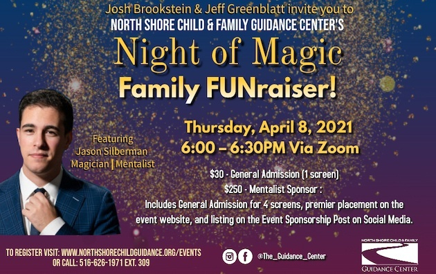 Guidance Center Hosts Family Magic Show