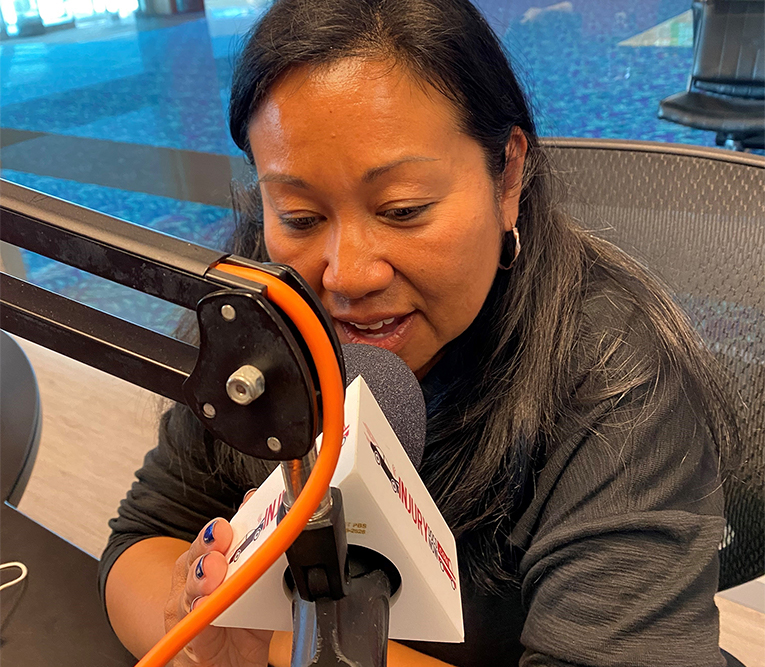 Kathy Rivera appears on radio show The Nonprofit Voice